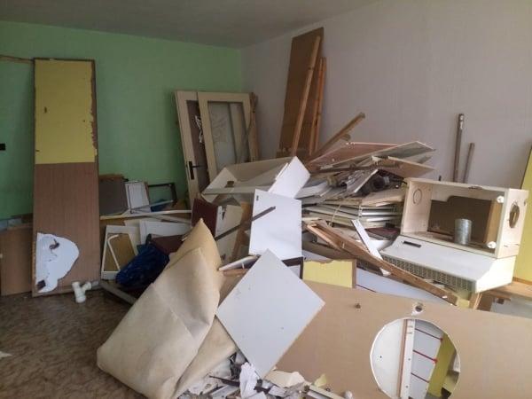 vyklizení bytu před rekonstrukcí